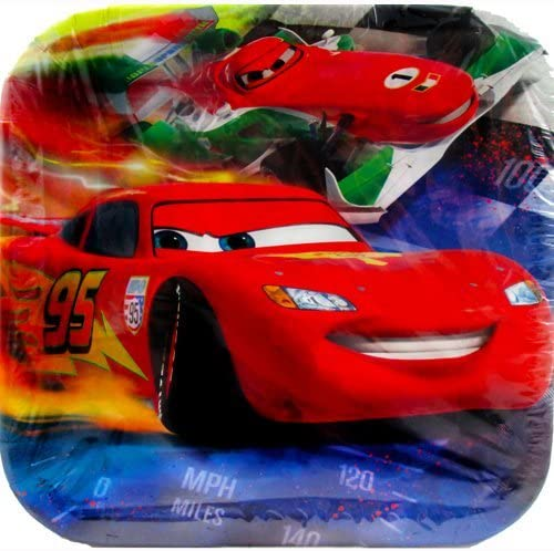 Cars 'Grand Prix Dream Party' Large Paper Plates (8ct)