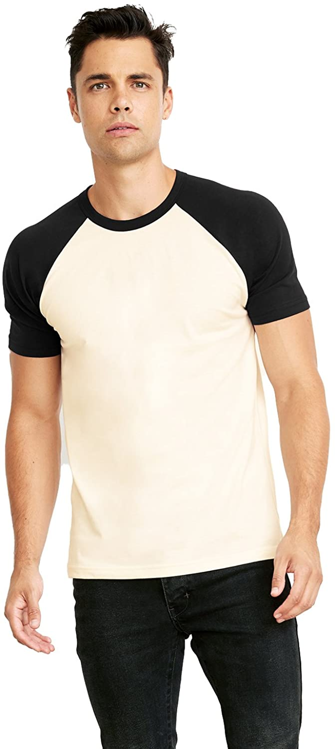 A Product of Next Level Unisex Raglan Short-Sleeve T-Shirt -Bulk Discountn