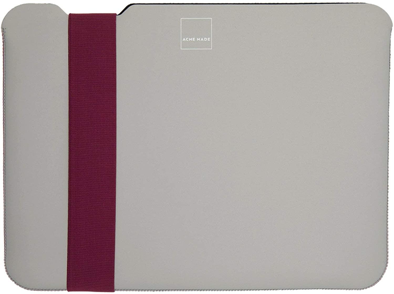 Acme Made Skinny Sleeve Medium (StretchShell Neoprene) Grey/Fuchsia AM10351