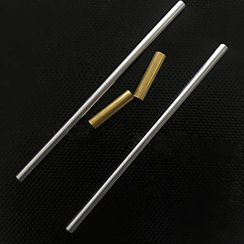120mm Smooth rods and Brass Tube 5x6x25bt for Prusa i3 MK3 Multi Materials 2.0 3D Printer