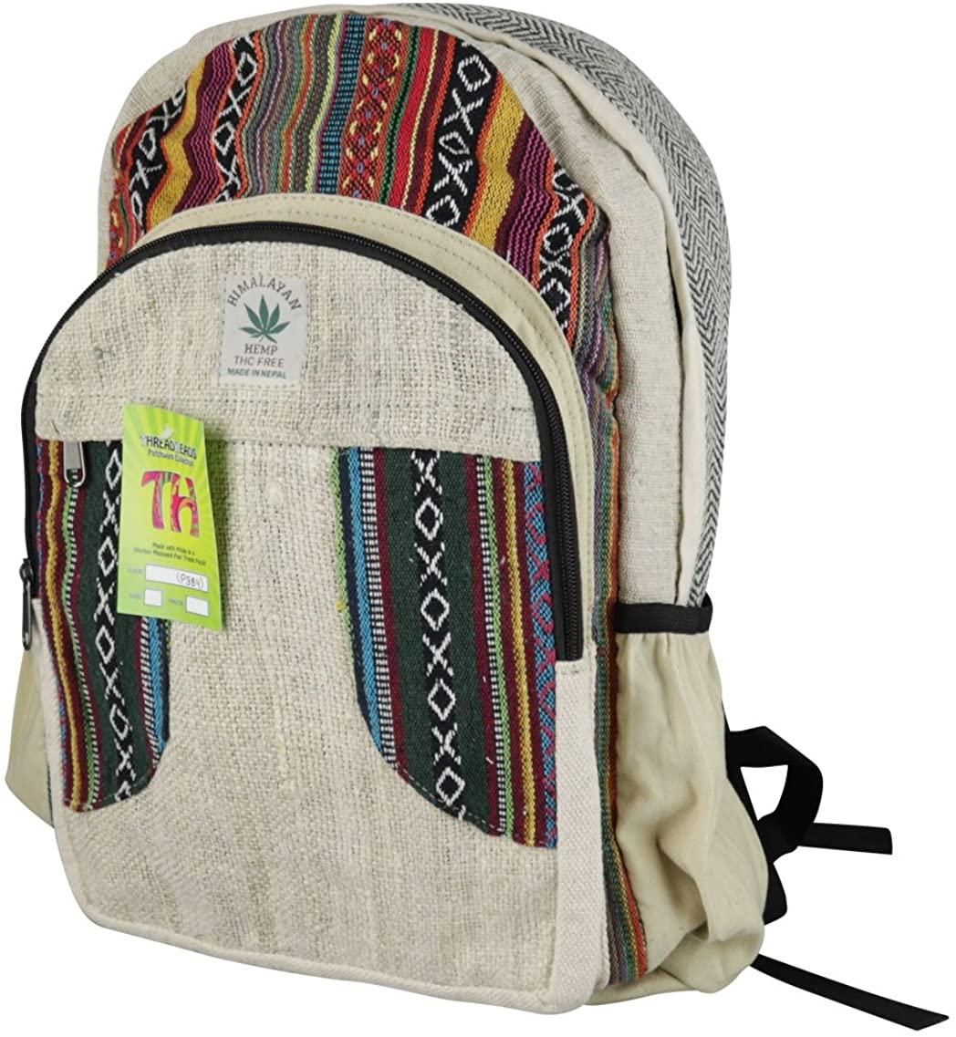 Threadheads Hemp 2 Zipper Backpack - 18