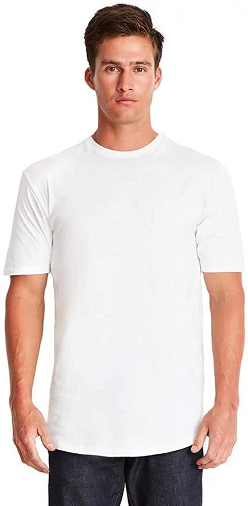 The Next Level Cotton Long Body Crew (3602) White, M