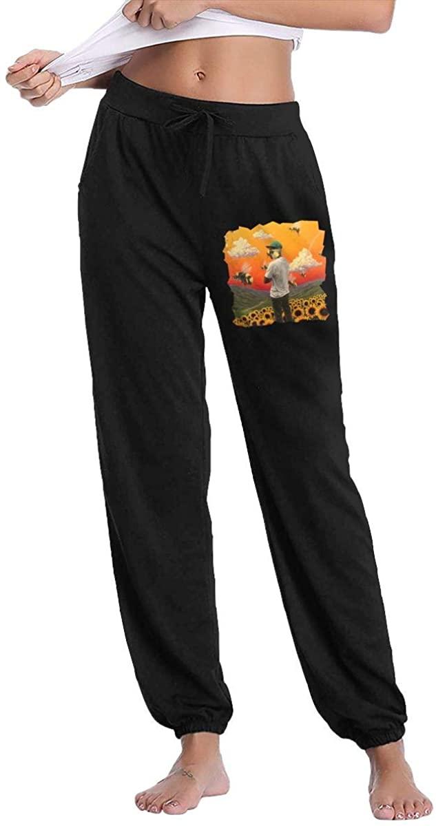 Golf Wang Tyler Women's 100% Cotton Casual Sweatpants, Jogger Pants