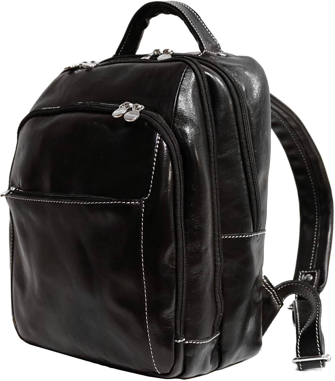 Floto Venezia Leather Backpack