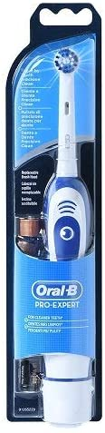 Oral-B Pro Expert Battery Powered Toothbrush with Replaceable 2 x AA Batteries and 1 x Precision Clean Brush Head