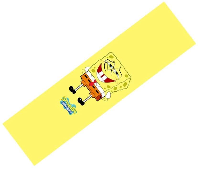 33 Inch/48 Inch Short Board Longboard Cruiser Skateboard Grip Tape Cute Spongebob Surface/Bottom