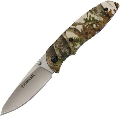 Browning, EDC Folder Knife, Tan Camouflage