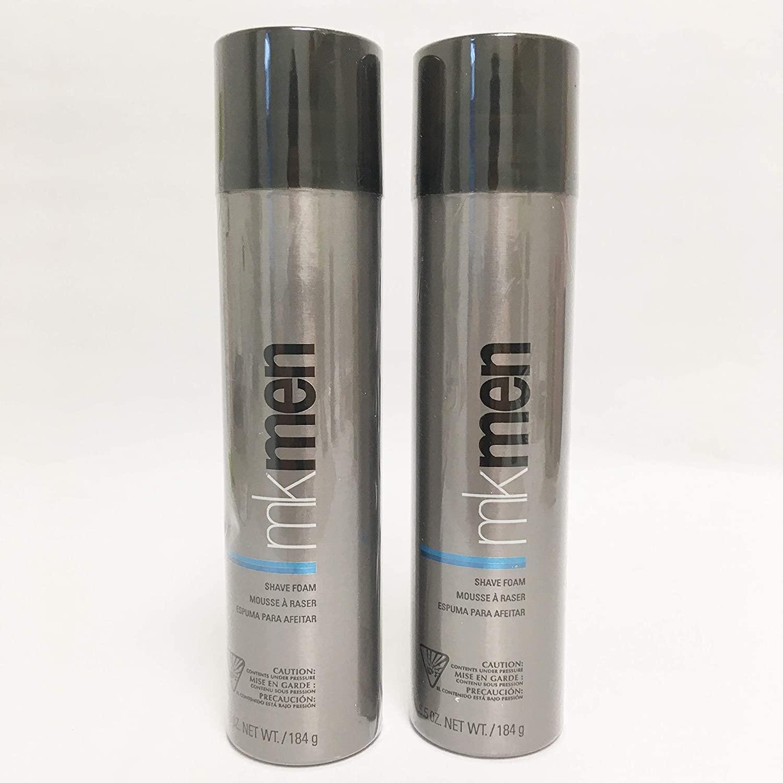 Mary Kay MK Men Shave Foam for Sensitive Skin 6.5 ounce / 183 gram - 2 Pack