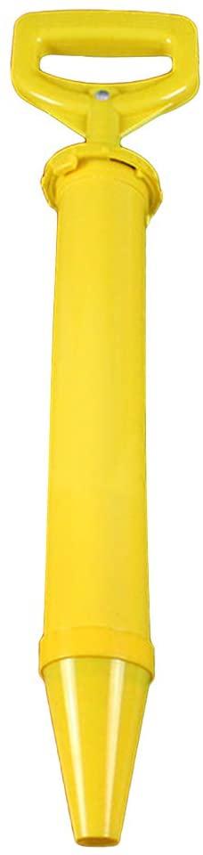 Caulk gun, Caulking Gun Pump Lime Cement Mortar Grout Applicator Round Flat Mouth - Reinly