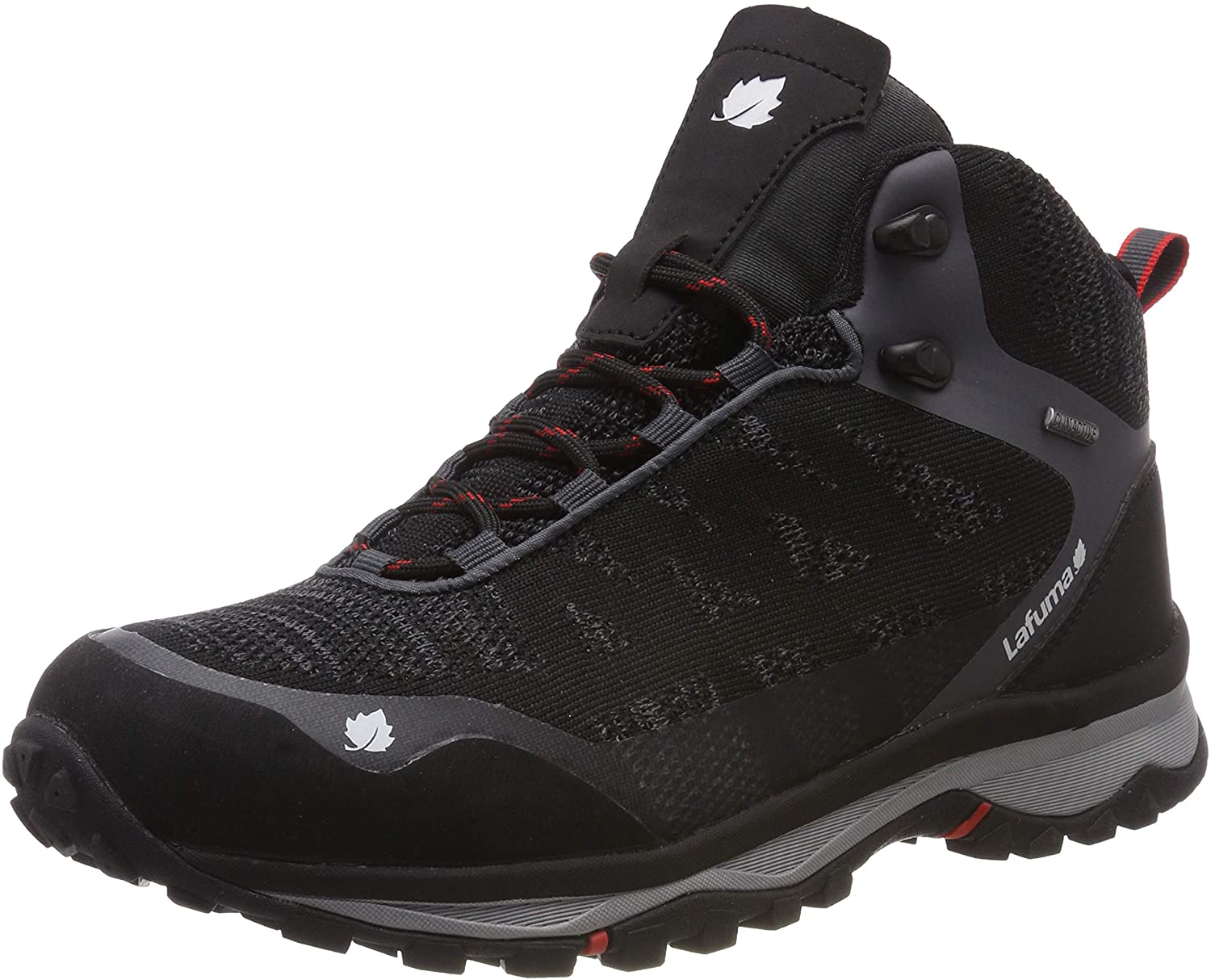 Lafuma Mens High Rise Hiking Shoes, Grey Carbon Black 4550