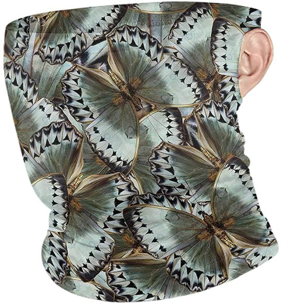 VIVIOTendance Headwrap Exotic,Butterflies Jungle Queen Recycle Elasticity Stretchable