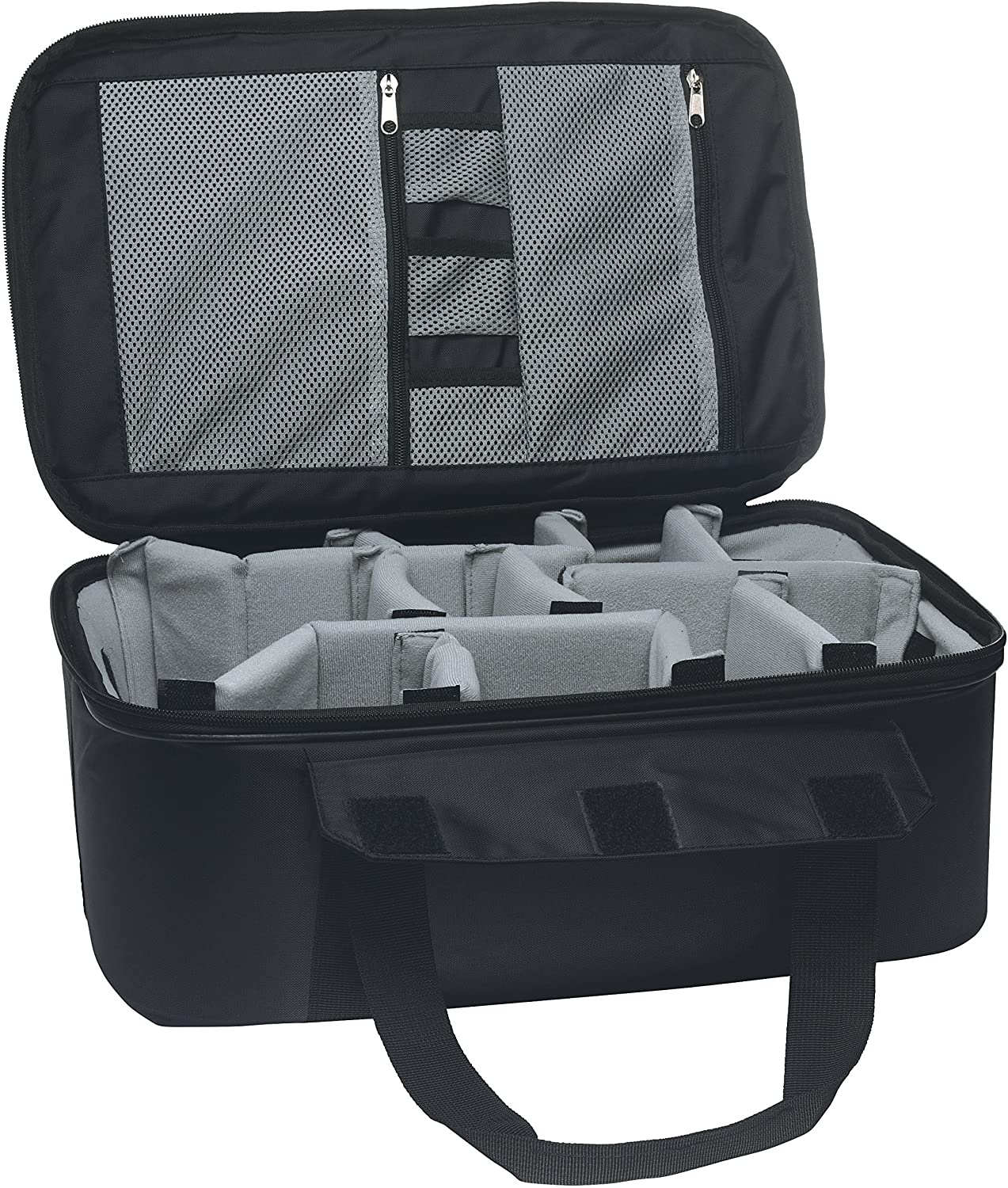 DLC Stowaway Insert Gear Case with Padded Adjustable Dividers