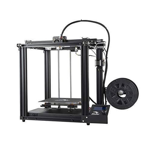 Creality 3D Printer Ender-5 Dual Y-axis Motors Magnetic Build Plate Power Off Resume Printing Enclos