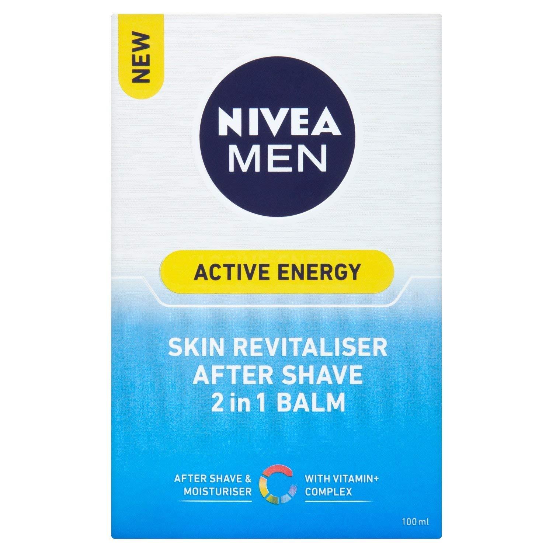 Nivea for Men Active Energy Skin Revitaliser After Shave 2 in 1 Balm