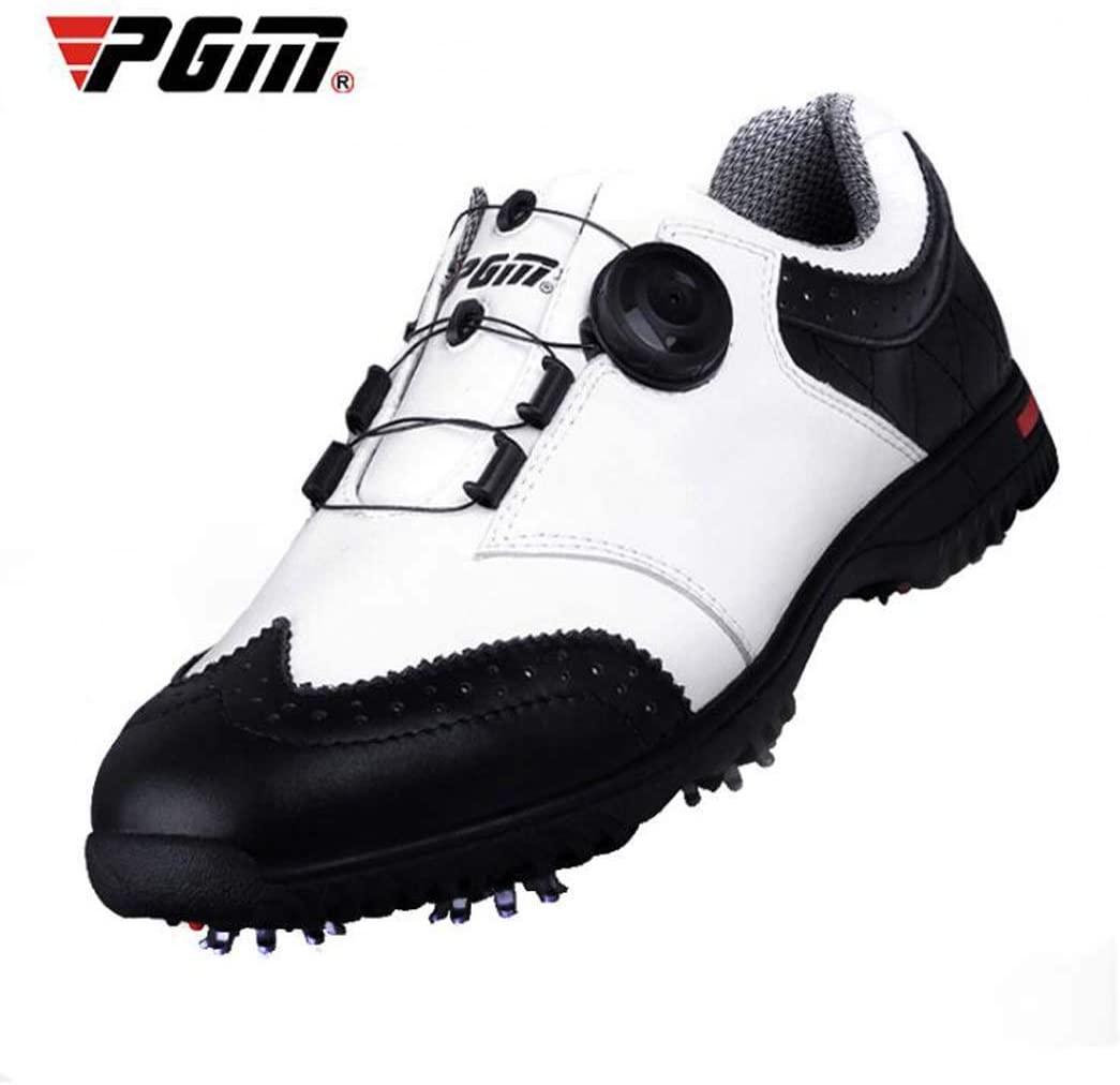 WSHZ Mens Golf Shoe,Waterproof,Breathable,Anti-Skid Men Shoes,39