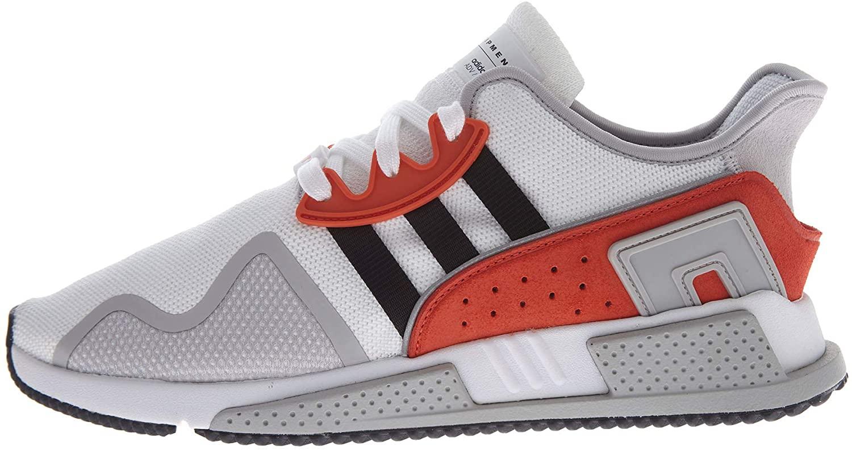 adidas Men's Originals EQT Cushion ADV Shoes (9) White/Black/Red