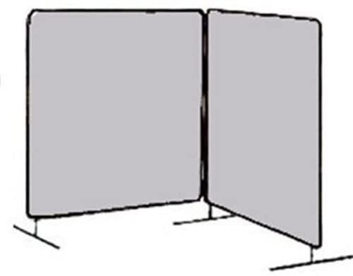 Tillman 6052066 6X6 16 mil. 2 Panel UV Blocking Clear Vinyl FR Scree