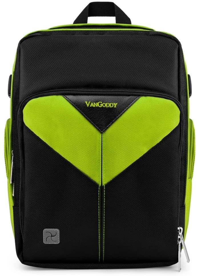 Shock Proof Multipurpose Green Medium Equipments Backpack for Nikon DSLR Camera