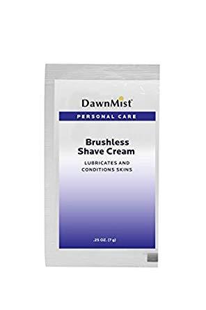DawnMist PBS70 Brushless Shave Cream, Box of 100