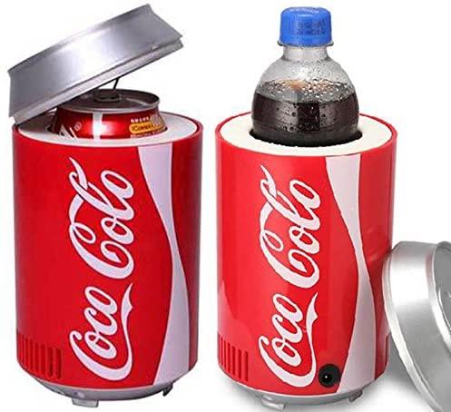 YFDZZSP Portable Mini USB PC Car Laptop Fridge Cooler Mini Refrigerator 12V Warmer Cooler Beverage Drink Cans Freezer