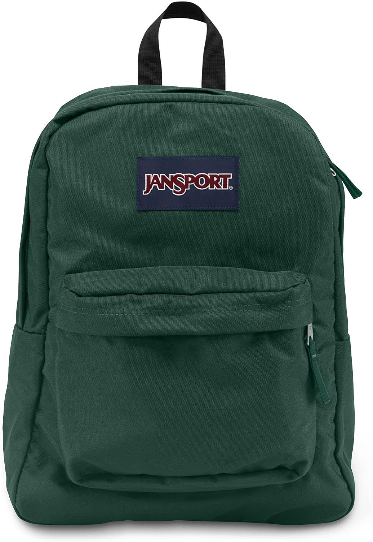 JanSport Superbreak Backpack - Collegiate Forest - Classic, Ultralight
