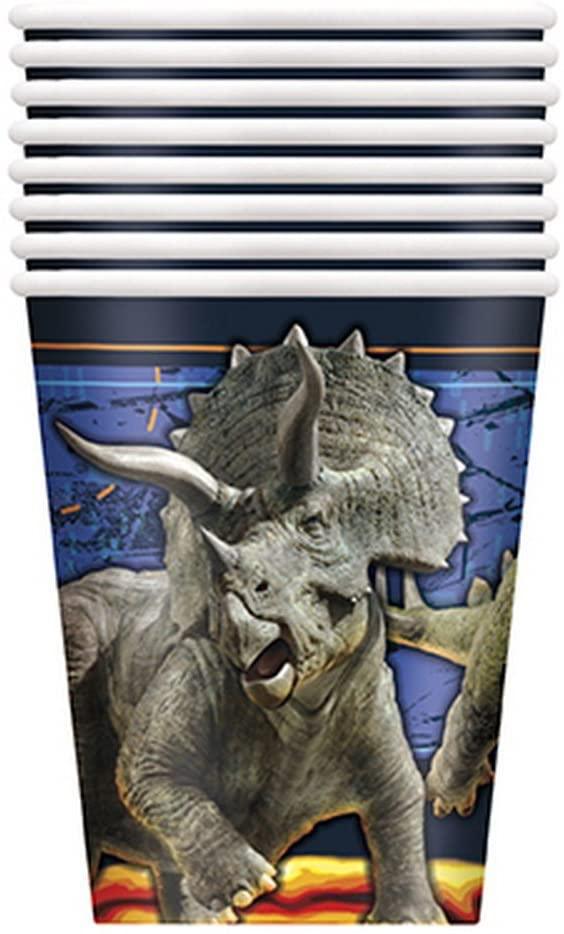 Jurassic World Fallen Kingdom Birthday Party Supplies 16 Pack Paper Cups