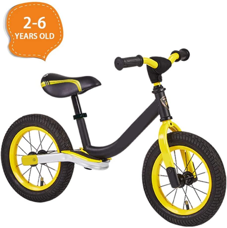 DGPOAD Balance Bike for 3-6 Years Old Kids Boys Girls, No Pedal Toddler Bike Walking Training Bicycle First Bike Birthday Gift
