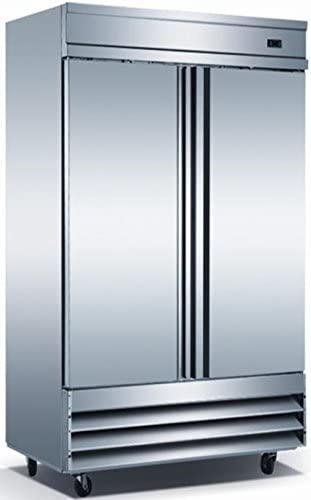 Reach-In Stainless Solid Door Refrigerator/Freezer