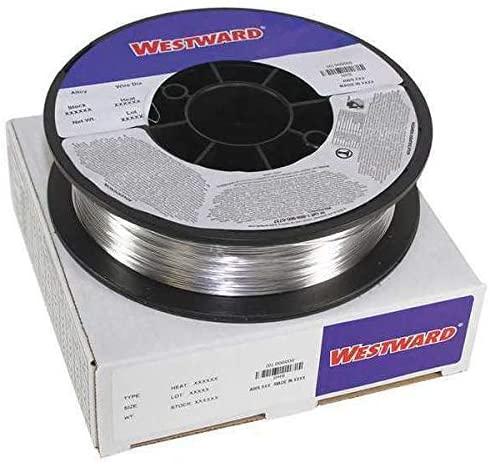 ER4043.035,3 lb. 8 In WESTWARD 41R295 MIG Weld Wire