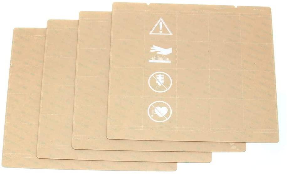 XIANYUNDIAN 5pcs Sheet Heat Bed Platform Buildplate Transparent Sticker Sheet for Prusa i3 Mk3 Mk2.5 Heat Bed with 300LSE Repair Parts
