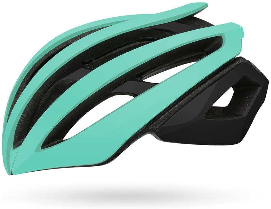Bicycle Riding Helmet, Helmet Road Mountain Bike Racing Lightweight Double Layer Riding Helmet Ventilation-Green-L(58-61cm)