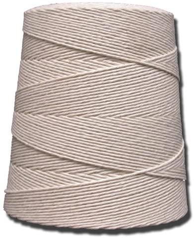 T.W Evans Cordage 07-060 6 Poly Cotton Twine 2.5-Pound Cone, 8000-Feet
