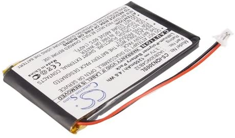 GAXI Battery for Garmin Nuvi 310D, Nuvi 310T, Nuvi 350 Replacement for P/N 010-00538-78, 361-00019-02, 361-00019-06