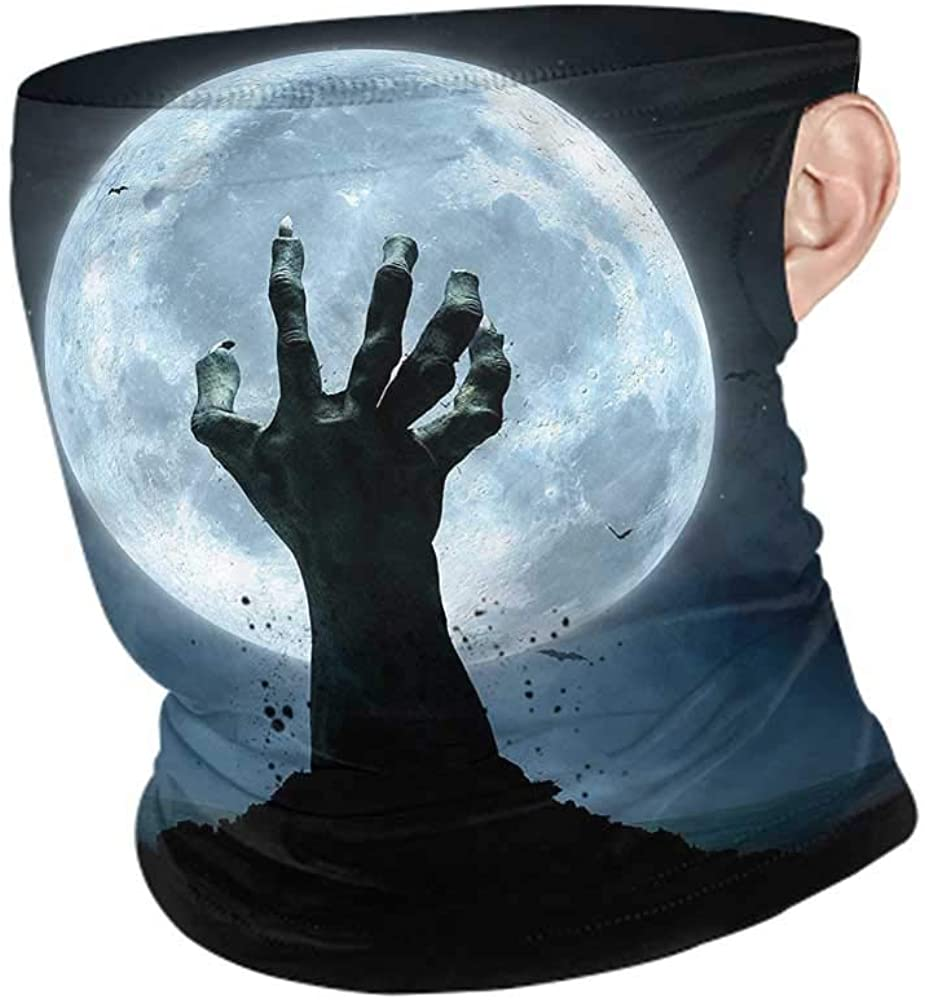 Face Scarf Halloween,Zombie Grave Cold Weather Face Cover