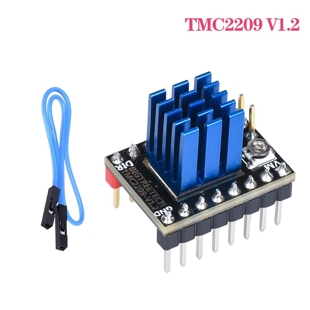 BIGTREETECH DIRECT TMC2209 V1.2 Stepper Motor Driver UART VS TMC2208 TMC2130 A4988 SKR V1.3 Pro Control Board 3D Printer Parts Mini E3