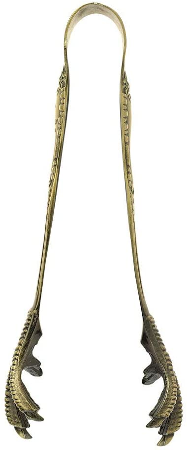 Barfly M37066 Talon Ice Tong, Antique Brass