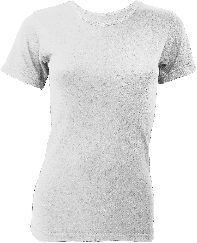 Floso Ladies Thermal Short Sleeve T-Shirt