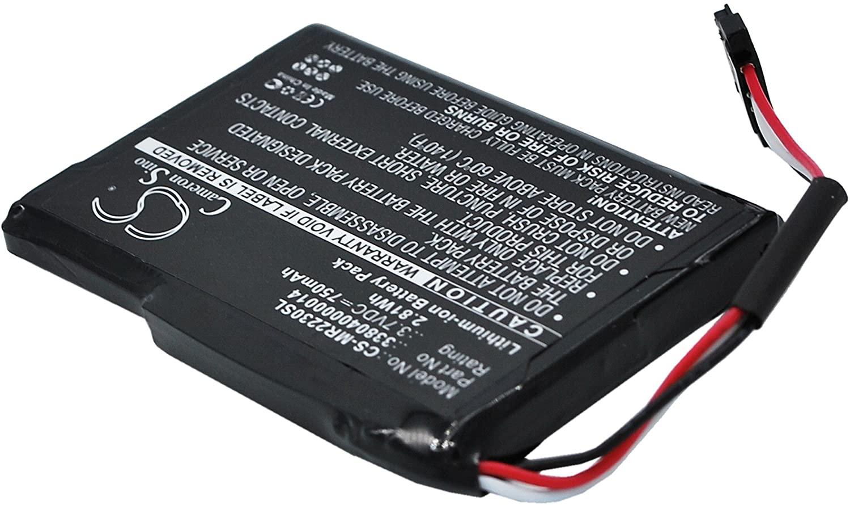 750mah Battery for Magellan RoadMate 2230 RoadMate 2230T-LM 338040000014