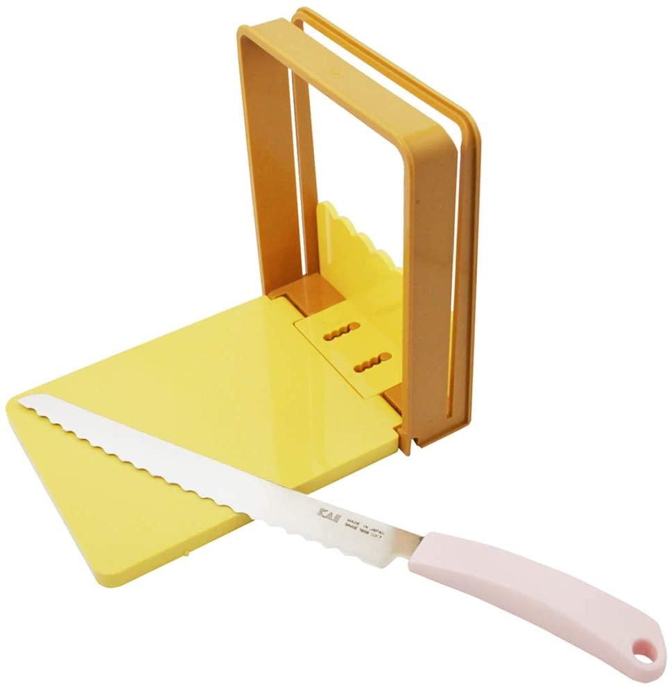 Kai Bread Knife & Guide Set (AC-0059)