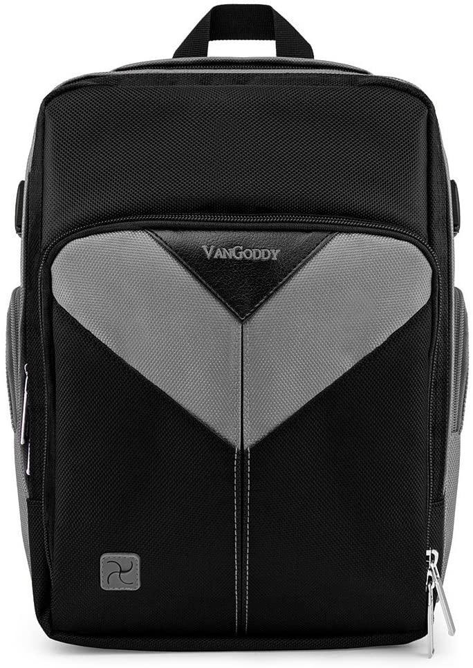 Multi Functional Camera Backpack Black Gray Photography Equipment Travel Bag for DSLR SLR GoPro HERO5 Series