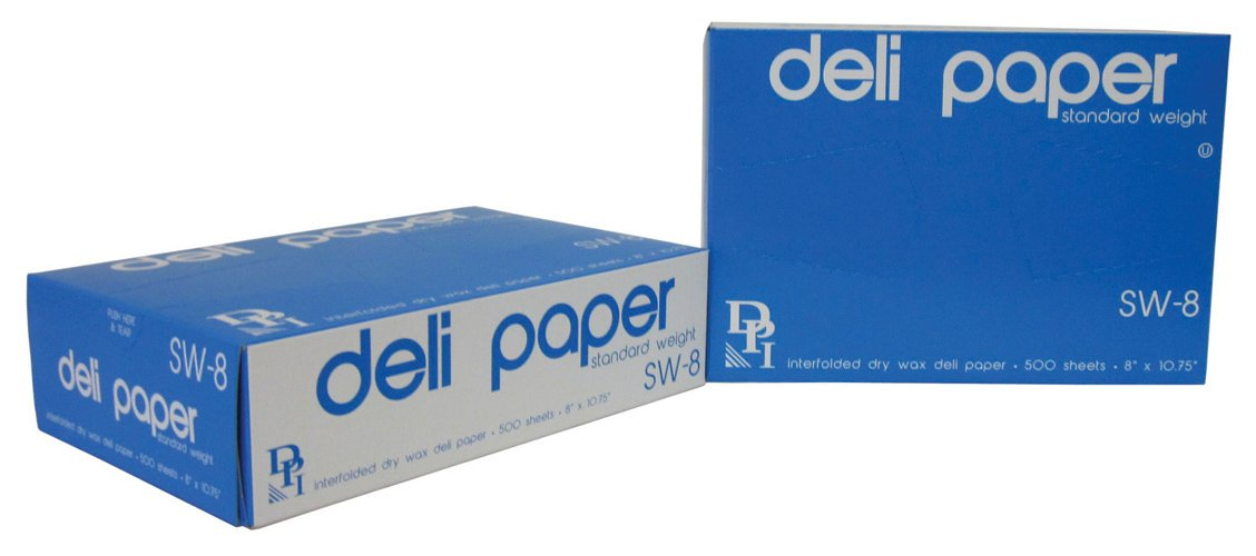 Durable Packaging Standard Weight Deli Sheets, 8