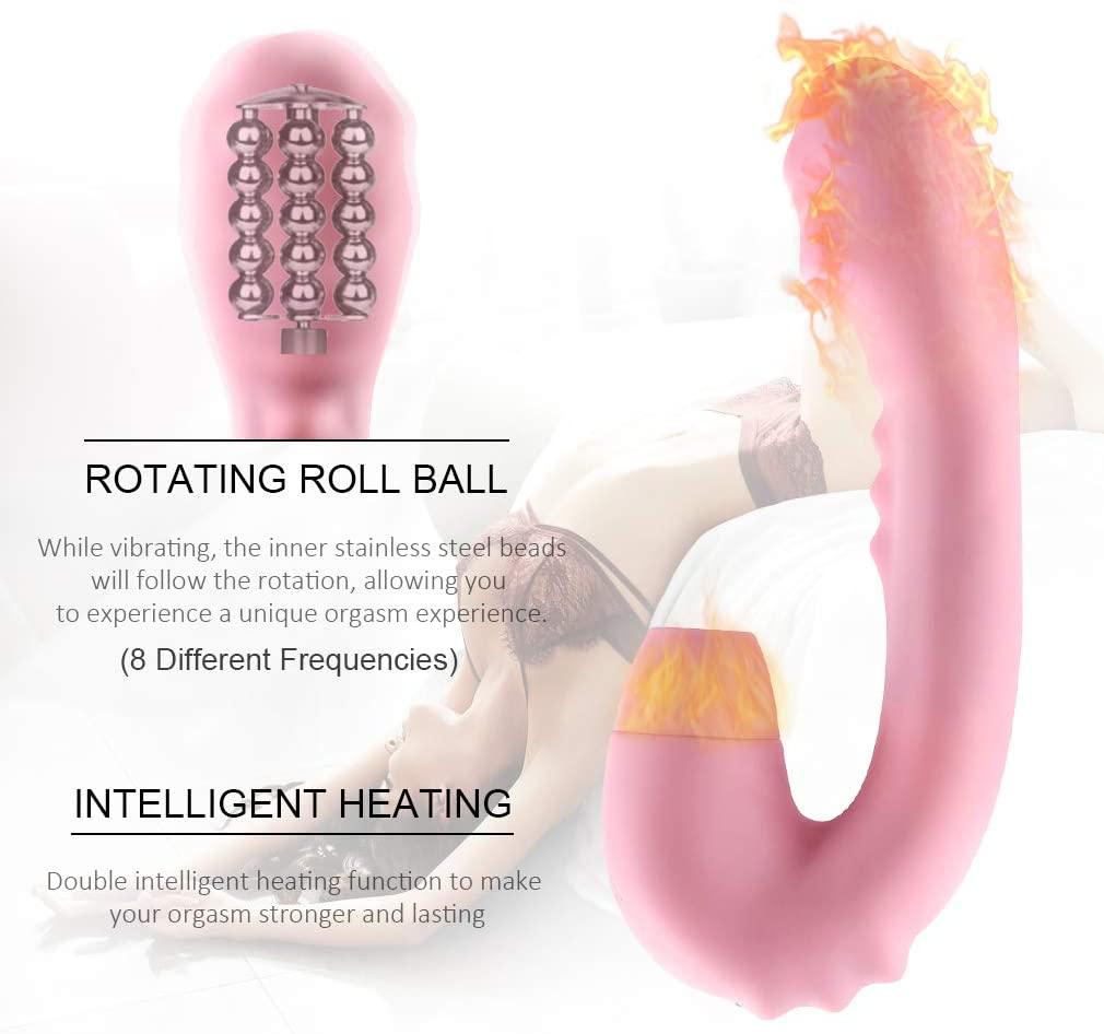 Waterproof Stimulator Variable Speed Vibration Ni''pple Sucker Woman Toys Sucking Clitorials Bullet Vibrantor USB Charging Massager for Women