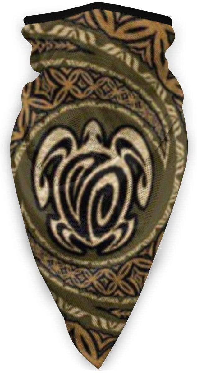 LOVE & LIKE Mother's Gifts Face Mask Hawaiian Tapa Honu Turtle Sun-Proof Fashion Bandana Headwear for Fishing