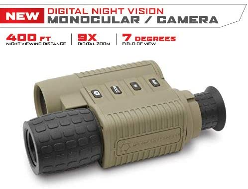 Stealth Cam Digital Night Vision MONOCULAR W/Recording