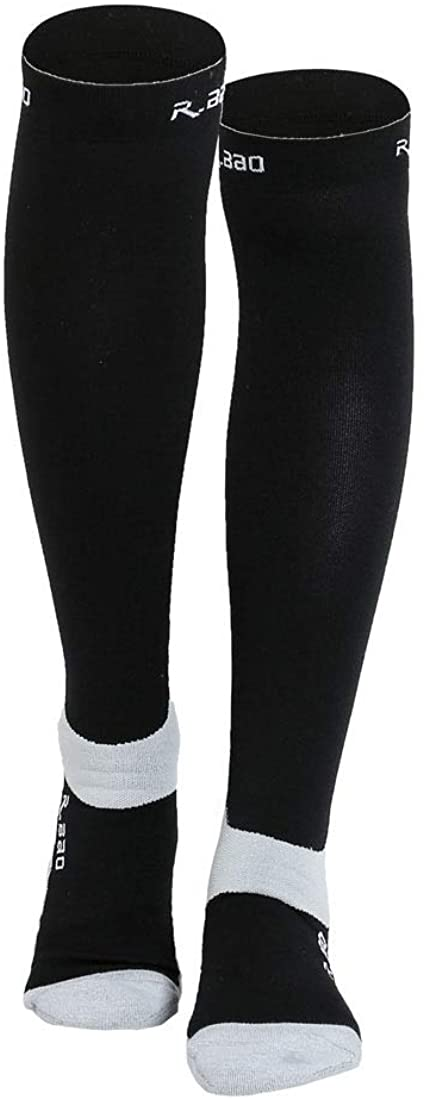 Mens Womens Long Running Cycling Protective Compression Tube Socks