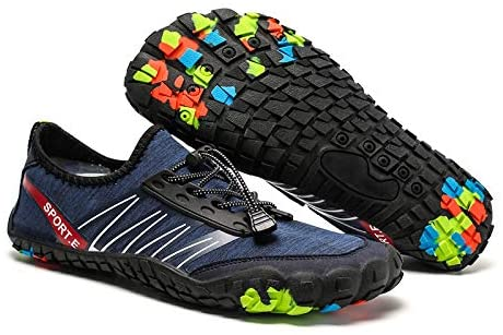 Yolanda Mens Outdoor Shoes Five Fingers Traceable Stream Shoes, Beach Swimming Shoes, Mens Drifting Fishing Shoes, 1988