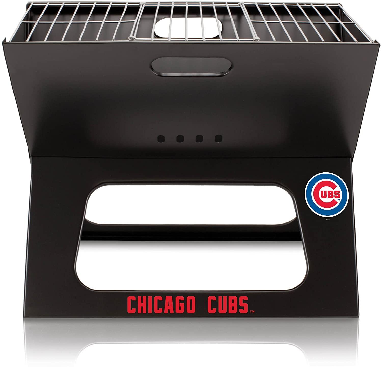 PICNIC TIME MLB Unisex MLB Portable Charcoal X-Grill