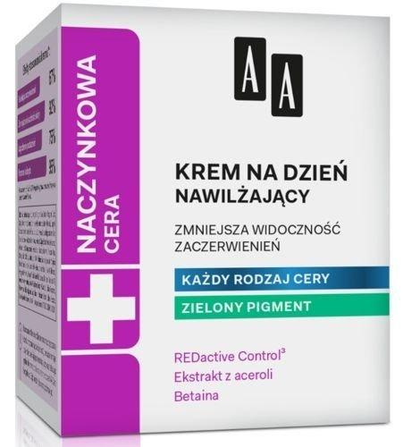 AA Vascular Skin Nourishing Day Cream with Green Pigment 50ml