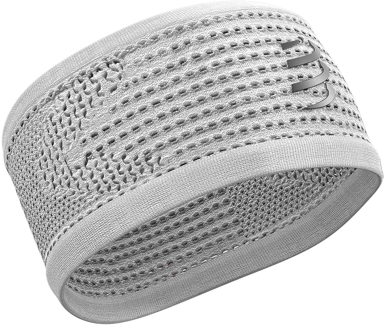 COMPRESSPORT Compresport Headband On/Off Unisex Running, unisex_adult, CU00009B, white, Uniq Size