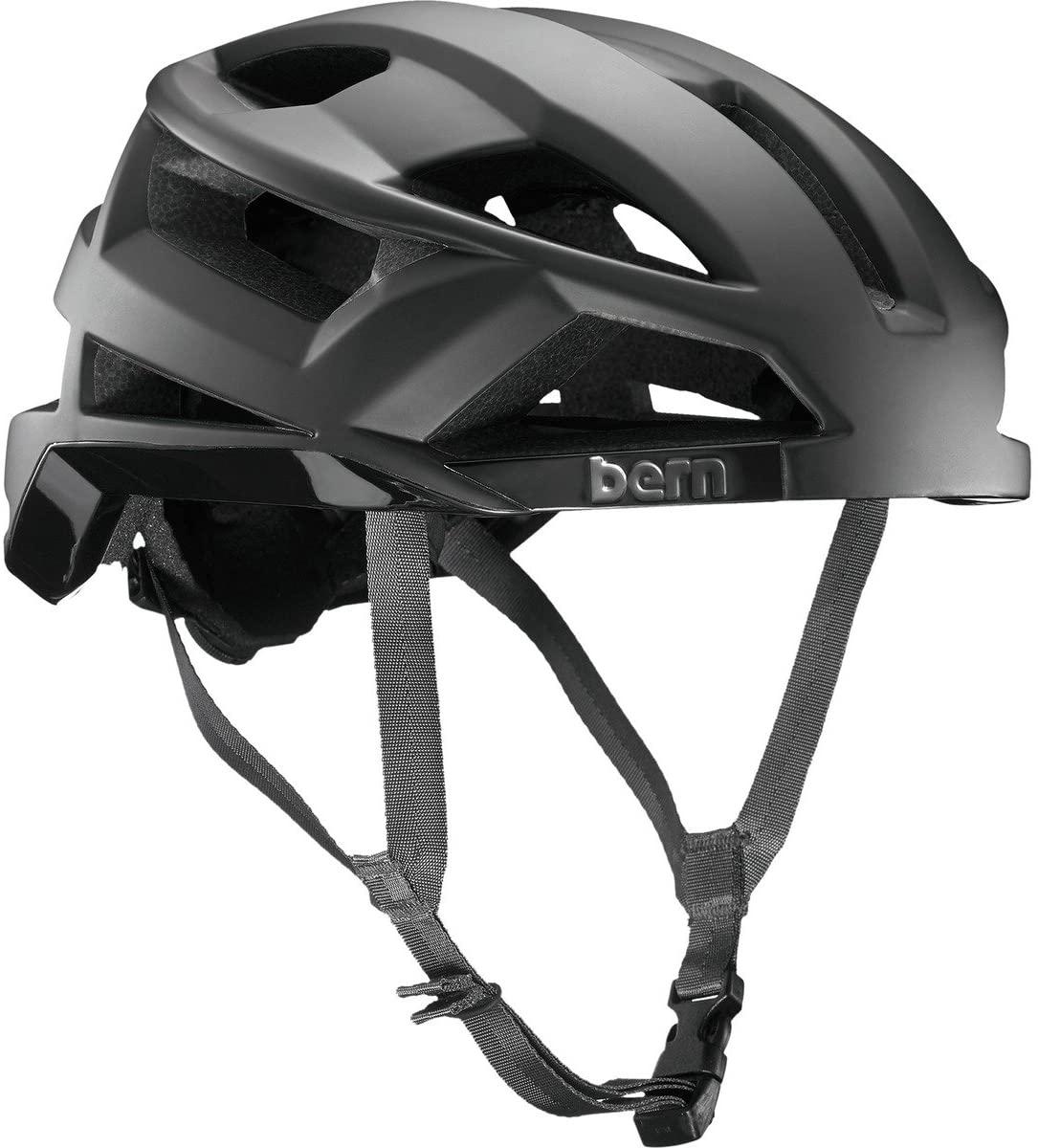 BERN Bike FL-1 Pave MIPS Helmet - Men's Matte Black Small